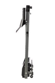newgen medicals Laufband LF-403.mini mit XL-LCD-Touch-Display, Tablet-Halter, klappbar, 600 Watt