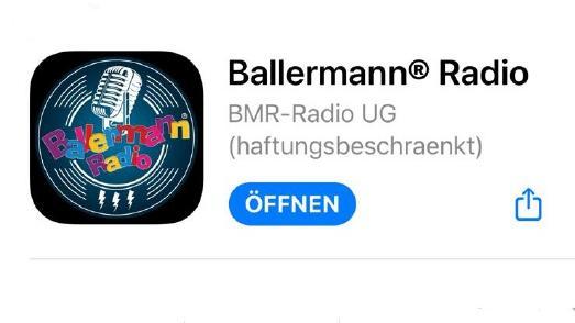 Die neue Ballermann Radio App