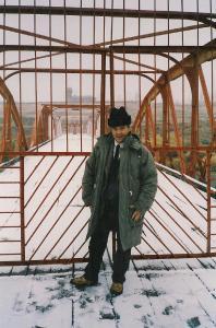 S.E. Leonidas Chrysanthopoulos während seines Aufenthalts in Armenien, 1993