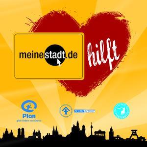 """""""meinestadt hilft"""": Städteportal sponsert gemeinnützige Organisationen mit jeder Weiterempfehlung im Branchenbuch"""