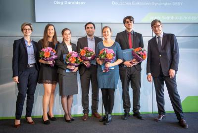 Six young scientists awarded the Helmholtz Doctoral Prize 2018