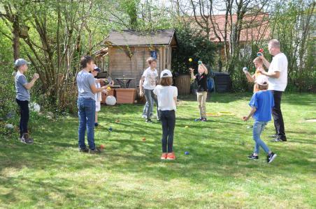 Jonglierkurse bei der Jonglierschule München in Nymphenburg