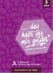 Studienheft zur Bibel © Cover: rasani design/Advent-Verlag