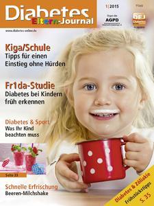 Diabetes-Eltern-Journal, Ausgabe 1/2015