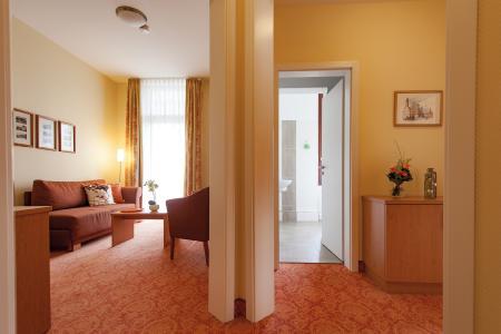 Suite im Vitalhotel am Stadtpark Bad Harzburg