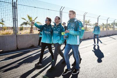 Formel E, MS&AD Andretti, António Félix da Costa, Tom Blomqvist, Marrakesch