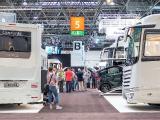 Concorde Mitarbeiter waren gesuchte Gesprächspartner auf dem Caravan Salon (Foto: Concorde)