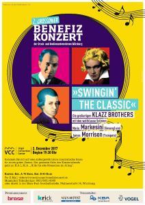 """Die legendären Klazzbrothers präsentieren """"Swingin' the classic"""" beim 2. Crossover-Benefizkonzert / Foto: Vogel Business Media"""