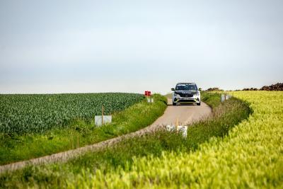"""""""Ready to race"""": Gelungene Weltpremiere für den Opel Corsa-e Rally / Foto: Opel Automobile GmbH"""