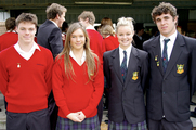 Internationale High School-Schüler in Australien