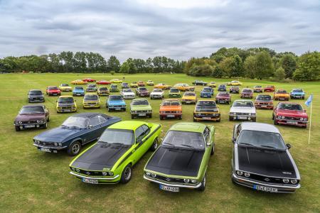 Just like 50 years ago: Opel Manta celebrates at Timmendorfer Strand