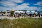 Die Land in Sicht Bar in eckernförde wurde im Mai eröffnet. Bild: www.ostsee-schleswig-holstein.de