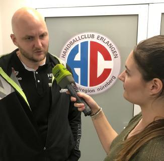 Die MT Melsungen ist brandgefährlich, so HC-Trainer Eyjolfsson (Foto: HJKrieg, hl-studios, Erlangen)