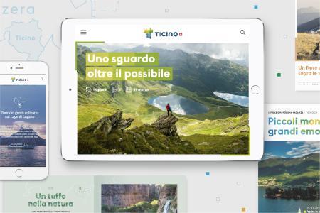 Ticino Turismo lanciert neues Erscheinungsbild