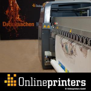 Order large-print advertisement online