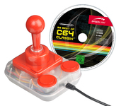 Competition Pro USB Joystick + '99 Best of C64 Classix®' Games Collection