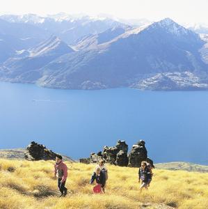 Wanderung im Fjordland