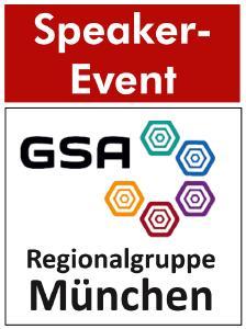 Speaker-Event GSA Regionalgruppe München