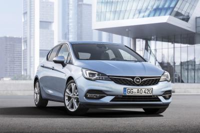 Fünf Antriebe unter 100 Gramm CO2: Neuer Opel Astra ab sofort bestellbar