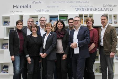 """Internationalisierung, Digitalisierung und Sicherheit - """"9 Städte + 1"""" diskutieren über aktuelle Themen in Hameln"""