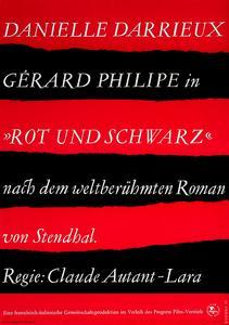 """Werner Klemke - """"Rot und schwarz"""" (1955)"""