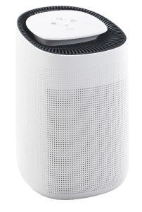 Sichler Haushaltsgeräte 2in1-Luftreiniger LFT-250.app und Entfeuchter, für Amazon Alexa & Google Assistant