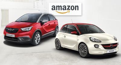 """Autoleasing per Touch und Klick: Ab sofort können der Opel ADAM """"Germany's next Topmodel"""" und der Newcomer Crossland X auf Amazon.de reserviert und dann beim Opel-Partner geleast werden"""