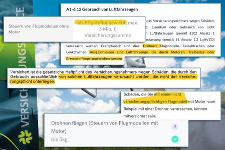 Versteckte Ausschlüsse von Drohnen in den Bedingungen der Privat-Haftpflicht ((c) Agnormark | Dreamstime.com)