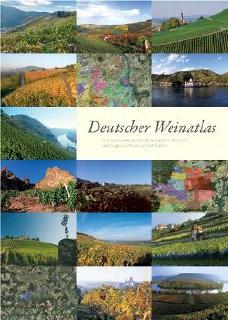 Deutscher Weinatlas mit detailgenauen Luftbildern