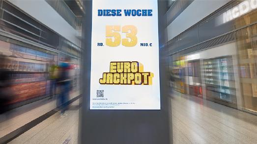 In der Millionärstatistik der Lotterie Eurojackpot gibt es jetzt 249 Millionäre seit Start der Lotterie im März 2012. Wer wird jetzt der 250. Eurojackpot-Millionär? Bei der kommenden Ziehung gibt es einen Jackpot von rund 53 Millionen Euro im obersten Gewinnrang. Foto: (c) Detlev Schlag