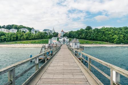 Die Seebrücke im Ostseebad Sellin, Foto: TMV/Süß