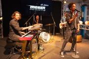 """Ließen es krachen: Die """"King Kamehameha Club Band"""" machte während der Jubiläumsparty musikalisch mächtig Dampf"""