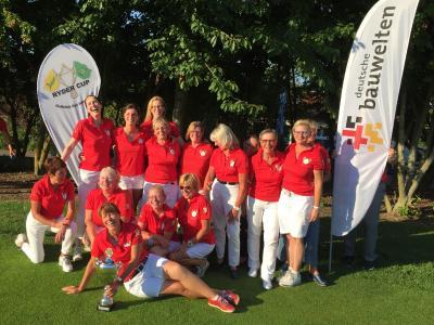 Sponsoring Golfturnier Siegerehrung