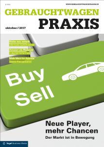 """In der aktuellen Ausgabe stellt das Fachmedium """"Gebrauchtwagen Praxis"""" die neue Gebrauchtwagenplattform """"Meinauto-Börse"""" sowie deren Preismodell vor / Foto: Gebrauchtwagen Praxis"""