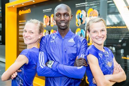 Anna Hahner startet im April beim Wiener Marathon 2015, den sie in 2014 gewonnen hatte, Lisa Hahner geht auch im April beim Hannover Marathon 2015 an den Start
