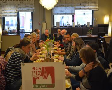 Eine starke Genuss-Truppe teste den Mittagstisch