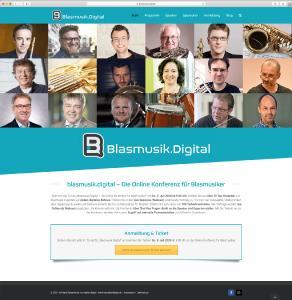 Blasmusik.Digital - die Online-Konferenz für Blasmusiker: Lernen von den Besten