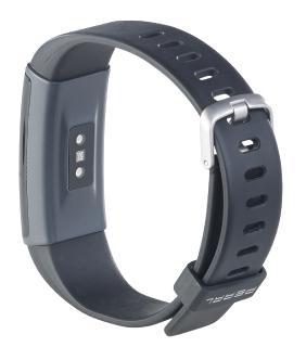 PEARL Fitness-Armband, GPS-Streckenverlauf, Puls, 13 Sportarten, App, IP67