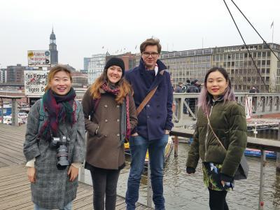 (Chinakoordination): Studierende der ECUST und chinabuddies auf Exkursion