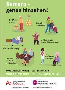 Demenzwoche 2021 Plakat