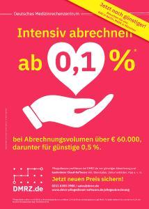 Mit DMRZ.de Intensivpflege günstiger online abrechnen.