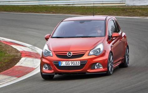 Opel Corsa OPC Nürburgring Edition:Hochleistungssportler mit 155 kW/210 PS,einem neu entwickelten Bilstein Performance Fahrwerk, mechanischem Lamellen-Sperrdifferenzial und Brembo-Bremsen an der Vorderachse