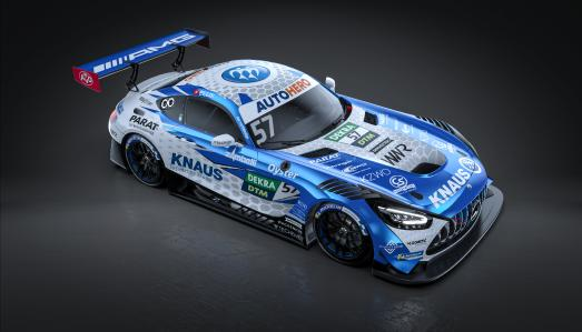 """The KNAUS """"Raptor's"""" first appearance in the DTM: Start of an exciting season"""