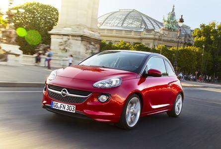 Erfolgreicher Mini: Die Opel ADAM-Verkäufe legten im Januar 2015 um 55 Prozent gegenüber dem Vorjahresmonat zu. Foto Adam Opel AG