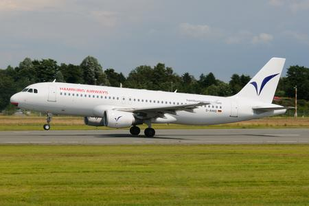 A-320 Hamburg Airways