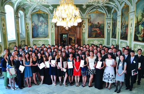 FH Lübeck verabschiedet sechsten Jahrgang des Deutsch-chinesischen Studienmodells - alle internationalen Studierenden erfolgreich (Foto: Pressestelle FH Lübeck)