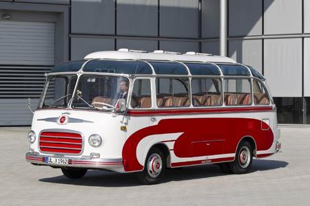Setra S 6, Baujahr 1962