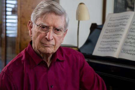 Maestro Herbert Blomstedt; Credit: J. Varnholt