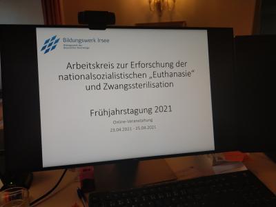"""Digitales Expertentreffen zur NS-""""Euthanasie"""" in Kloster Irsee"""