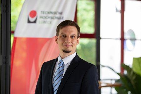 Dr. Claas Heymann ist der neue Professor für Umwelttechnik und –kybernetik an der TH Lübeck.